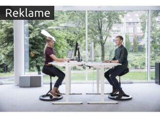Kunne du tænke dig at træne ryggen, samtidig med at du arbejder?