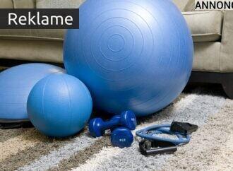 Sådan gør du sport og motion til en del af hjemmet